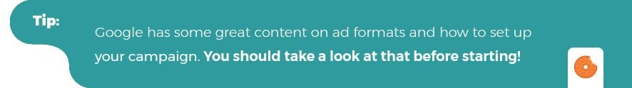 Tip google ads and video campaigns