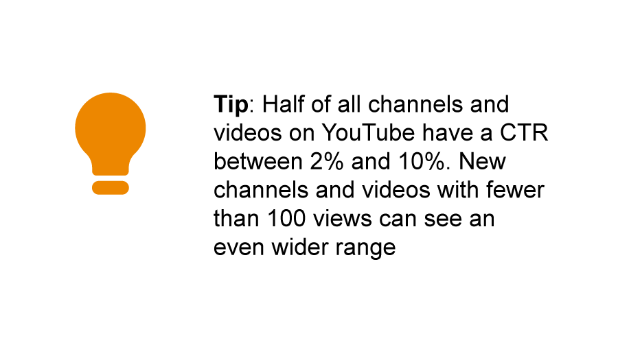 YouTube's Tip on CTAs