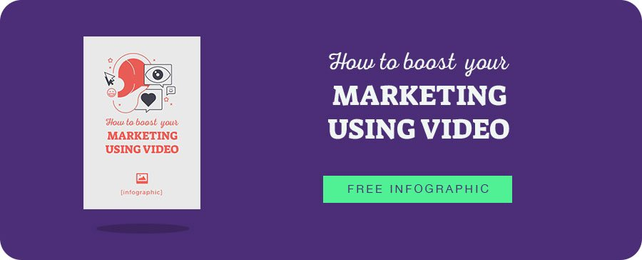 infographic: how to boost your marketing using video